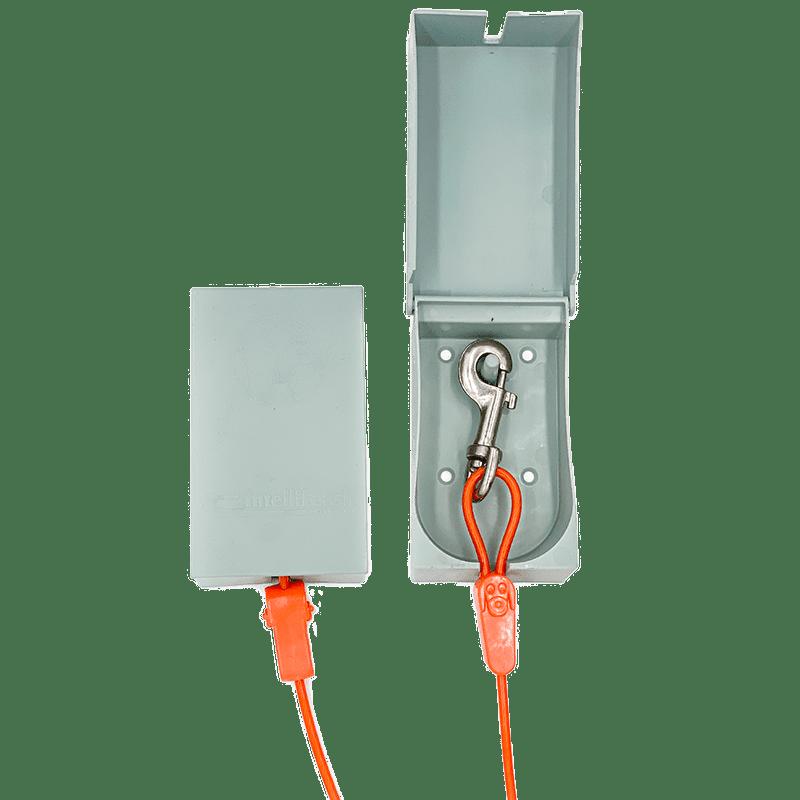 Intelli-Shield Clip and Leash Storage Box
